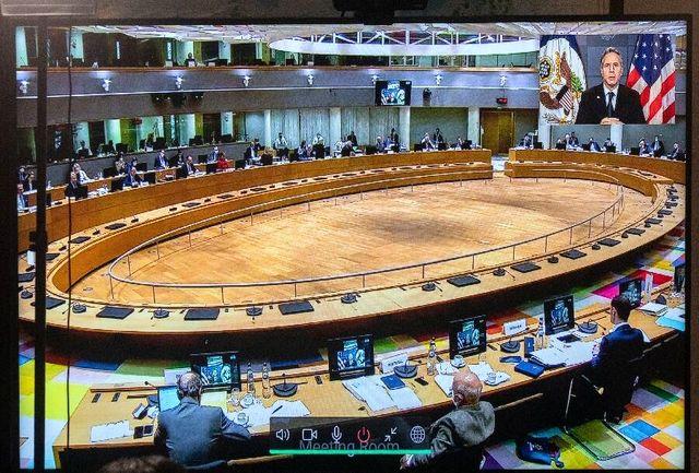 بلینکن با شورای خارجی اتحادیه اروپا درباره ایران تبادل نظر کرد