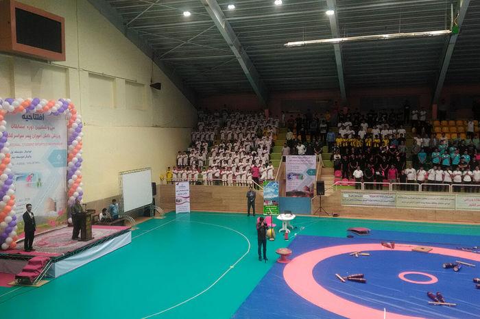 آغاز مسابقات ورزشی قهرمانی دانش آموزان پسر کشور در شهرکرد