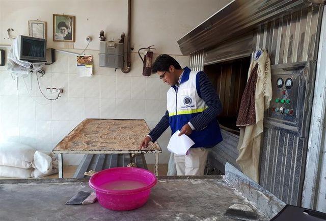 اجرای طرح ضربتی بازرسی از نانوایی های شهرستان راز و جرگلان
