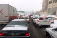 بارش برف، باران و مهگرفتگی در محورهای مواصلاتی کشور
