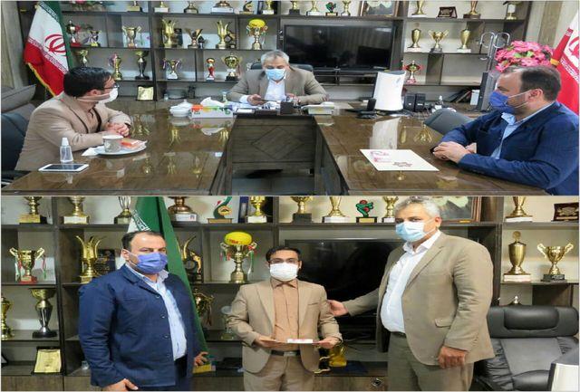 تجلیل از محمد گل محمدی دبیر و نماینده قانونی انجمن مردم نهاد سفیران جوان زندگی