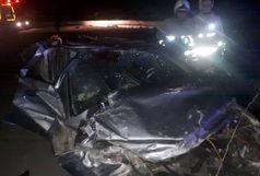 سانحه رانندگی در میانه  10مصدوم و یک کشته برجای گذاشت
