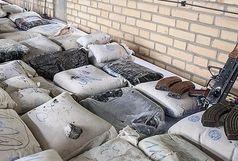 کشف بیش از یک تن مواد مخدر از نوع حشیش و تریاک در ایرانشهر