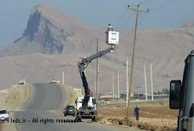 اجرای اصلاح ولتاژ شبکه ۹۵۴ مشترک در استان
