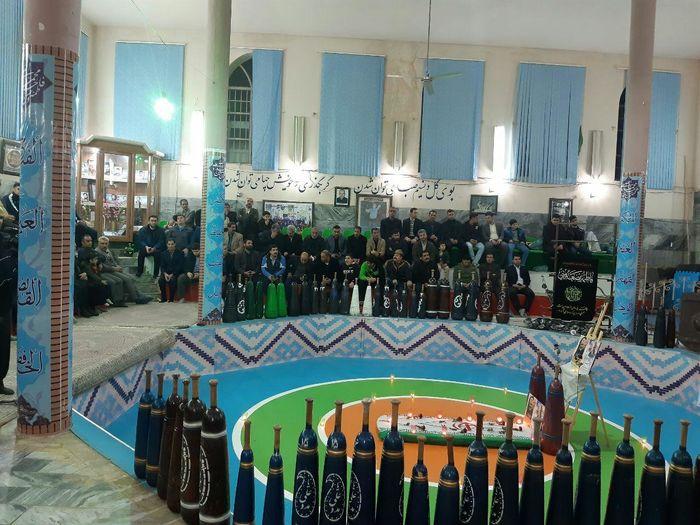 برگزاری آیین زورخانه ای گرامیداشت سردار شهید حاج قاسم سلیمانی در خرم آباد
