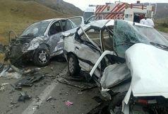 تصادف سواری405با سواری زانتیا در اسفراین 5کشته و مجروح برجا گذاشت