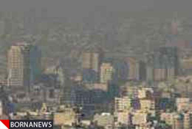 گردوغبار از مرزهایغربی وارد کشور میشود/کاهش 4درجهای دما در پایتخت