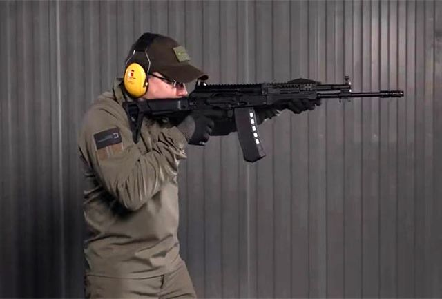 جدیدترین تفنگ کلاشنیکف رونمایی شد+عکس