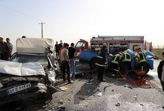 پنج کشته و زخمی در حادثه رانندگی میدان ترهبار اراک