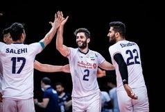 درخشش پنج ستاره ایرانی در آسمان چیبا