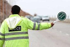 محدودیت ترافیکی جاده فشم به علت ریزش کوه