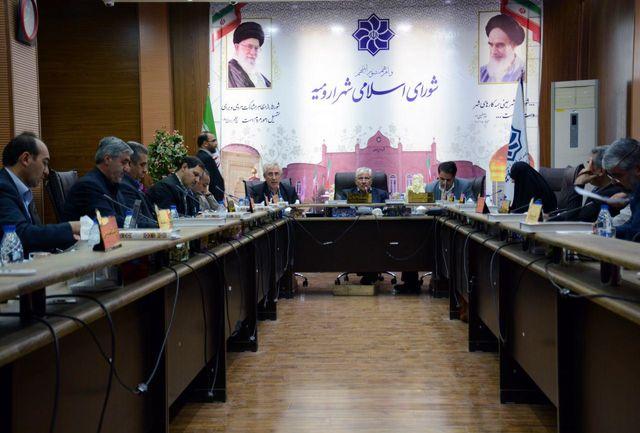 آخرین هیئت رئیسه شورای شهر دور پنجم ارومیه
