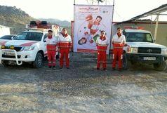 استقرار پایگاهای امدادی هلال احمر ایلام در ایام نوروز