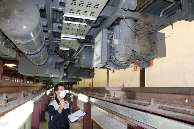 نگهداری و تعمیرات ناوگان متروی تبریز روزانه انجام میشود