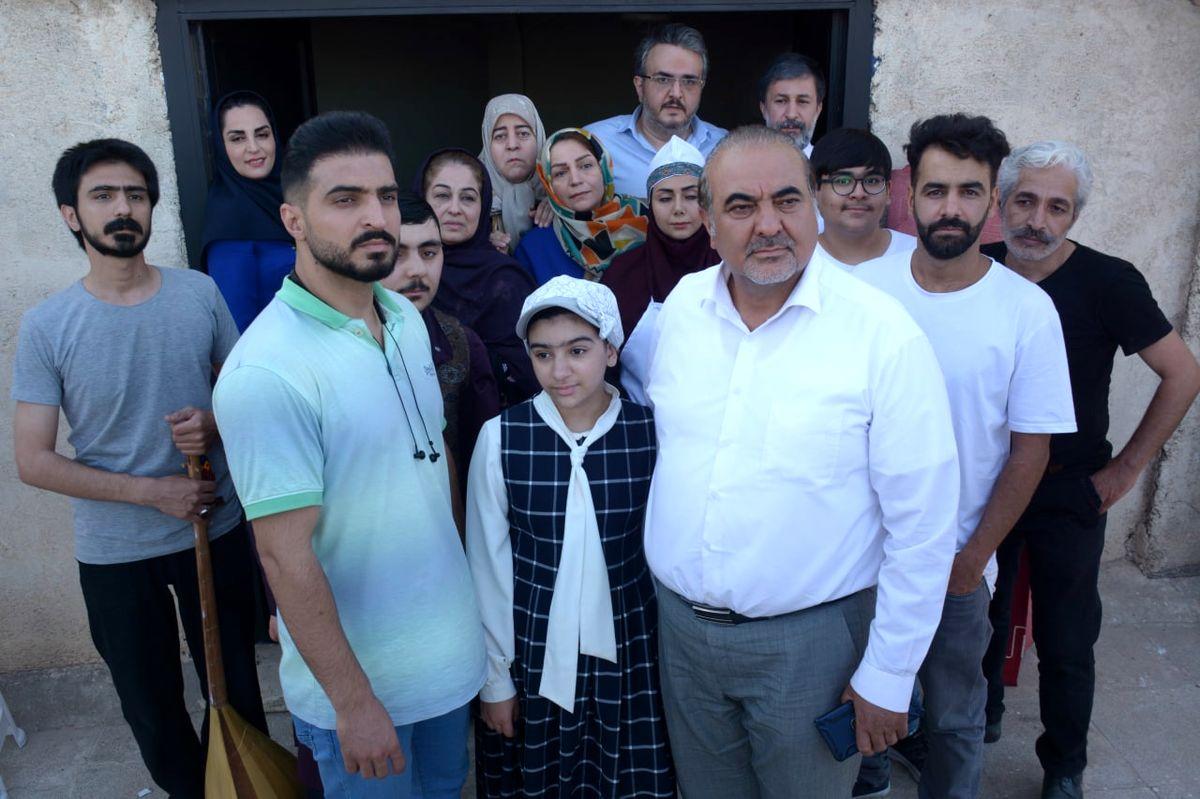 ایفای نقش جمعی از هنرمندان خراسانی در «اینان»/ فیلمبرداری به روزهای پایانی نزدیک شد