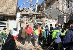 افزایش جانباختگان  حادثه انفجار ساختمان مسکونی در خرم آباد / کشف یک جسد دیگر