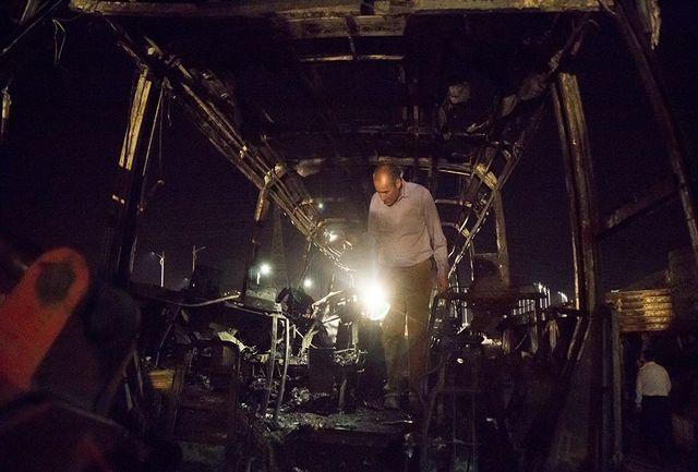 آخرین اخبار از حادثه مرگبار تصادف تانکر سوخت با اتوبوس مسافربری در سنندج از زبان سخنگوی اورژانس کشور/ 11 نفر کشته 9 نفر مصدوم