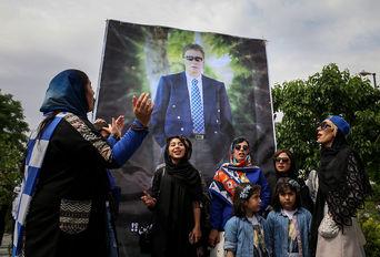 مراسم هفتمین سالگرد درگذشت ناصر حجازی