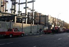 محدودیت تردد در خیابان جمهوری پس از آتش سوزی