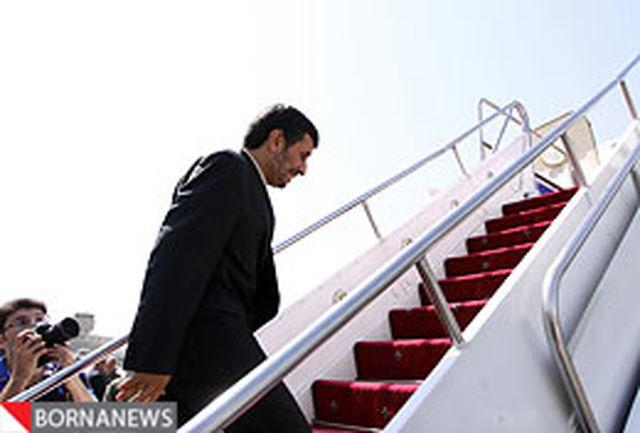 رییس جمهور کرمانشاه را به مقصد تهران ترک کرد