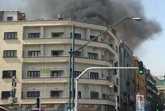 آخرین جزئیات آتش سوزی چهارراه ولیعصر