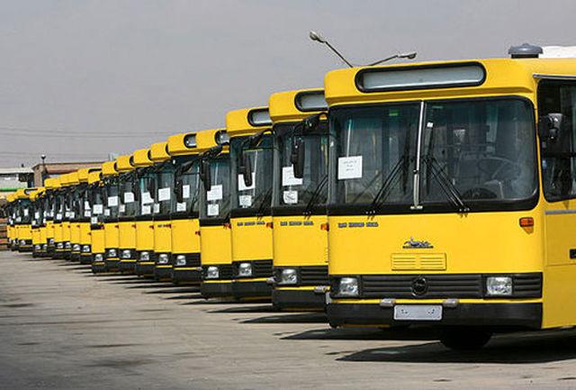 خدمت رسانی شرکت واحد اتوبوسرانی تهران به شرکت کنندگان در مراسم ۱۲ بهمن