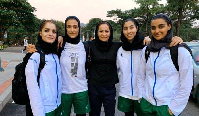 نام دختران ایران در تاریخ بسکتبال ثبت شد