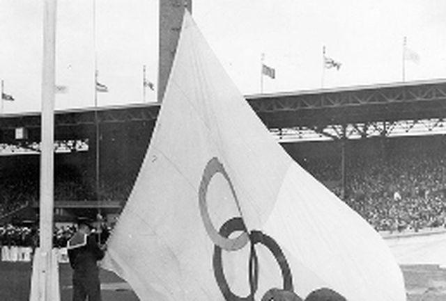 پرچم المپیک 100 ساله شد