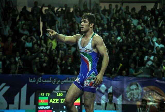 کشتی گیر کرمانشاهی قهرمان آسیا شد