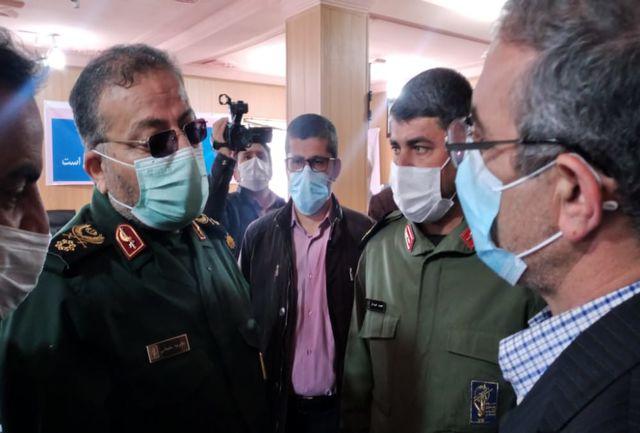 سپاه برای رفع مشکل زلزله زدگان دنا تا آخر پای کار است/ تداوم خدمات درمانی در سی سخت
