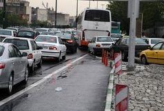 ترافیک سنگین معابر پایتخت در روز شنبه