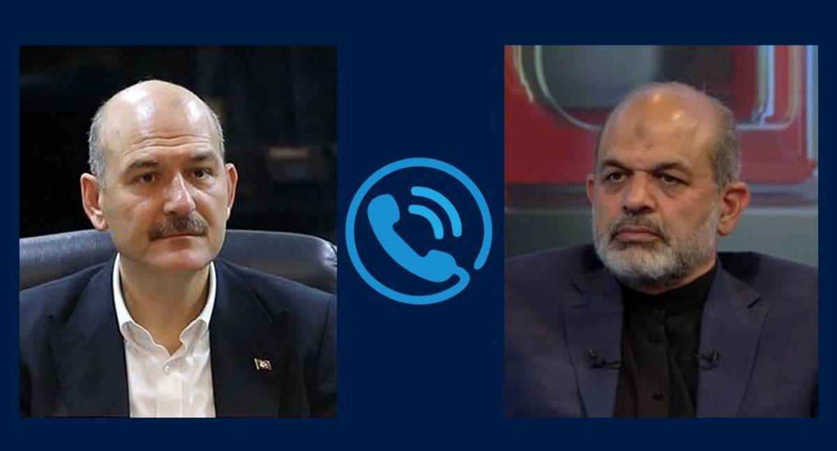 گفتگوی تلفنی وزیر کشور ترکیه با دکتر وحیدی