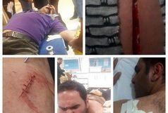 زخمی شدن سه تن از نیروهای شهرداری خرم آباد در حین انجام وظیفه