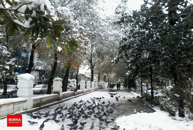 نفوذ سامانه جدید سرد و بارشی به آسمان گیلان