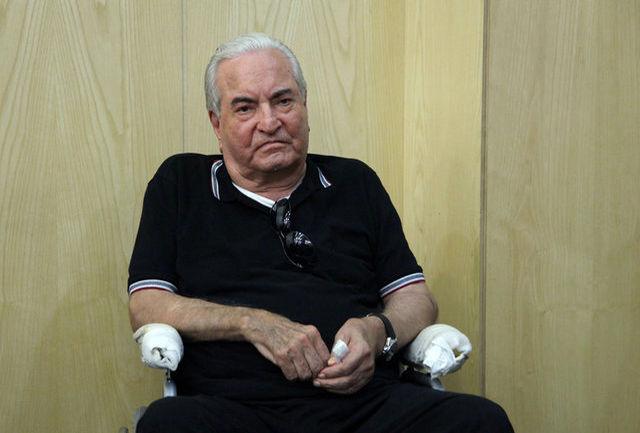 پیکر «عباس امیرانتظام» به خاک سپرده شد