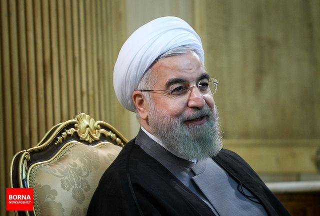 دکتر روحانی فرا رسیدن روز ملی ژاپن را تبریک گفت