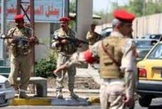 کشته شدن پلیس عراقی در انفجاری در بغداد