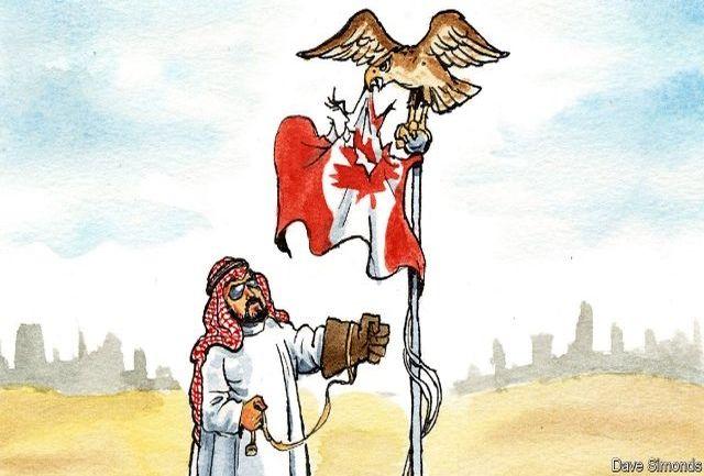 سعودیها شورشیان کانادا را مسلح کنند!