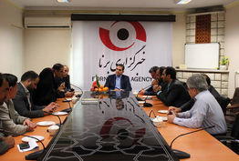 دفتر جدید خبرگزاری برنا در همدان افتتاح شد