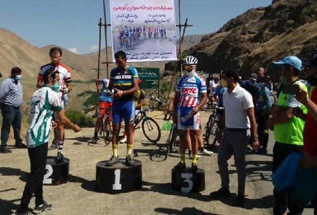 معرفی برترینهای مسابقه دوچرخه سواری جام آزادسازی خرمشهر در کرج