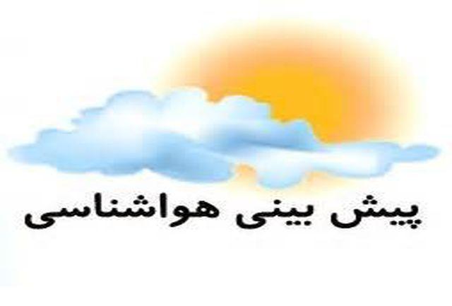جذب بیشترین میزان بارندگی شب گذشته استان در آبادان/آسمان خوزستان ابری می ماند