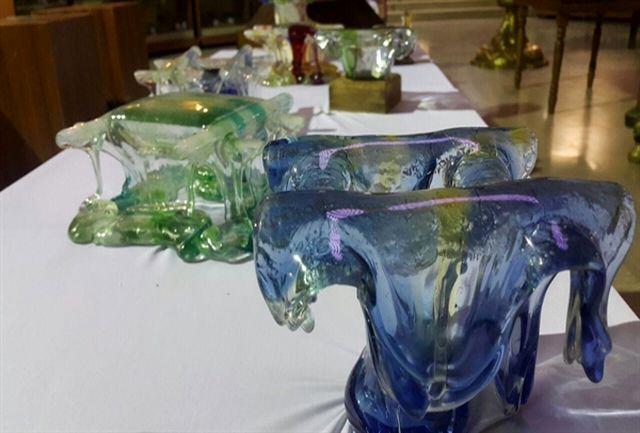 برگزاری نمایشگاه تجلی شیشه و نور در سازمان میراث فرهنگی