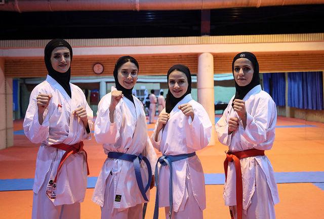 هیچ اختلافی بین فدراسیون کاراته و اعضای کادر فنی وجود ندارد/ المپینها به صورت انفرادی تمرین میکنند