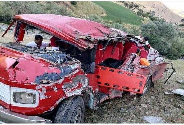 ۱۵ کشته و زخمی در تصادف خونین محور سقز ــ مریوان
