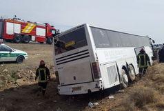 علت واژگونی اتوبوس فارس مشخص شد