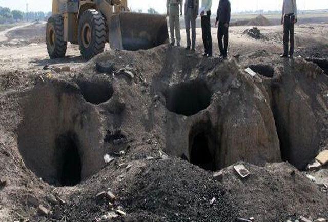 محکومیت حبس برای متخلفان تولید غیرمجاز ذغال در غرب تهران