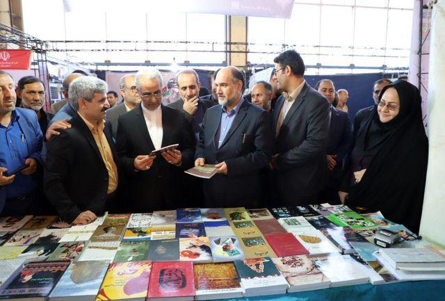 سیزدهمین نمایشگاه کتاب لرستان افتتاح شد