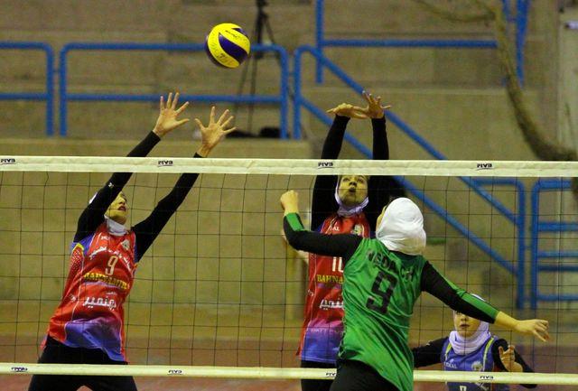آغاز مسابقات دسته یک والیبال امیدهای دختر کشور با برد آذربایجان غربی