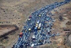 ترافیک نیمه سنگین در مبادی ورودی مهران / افزایش ۴ برابری حجم ترددها