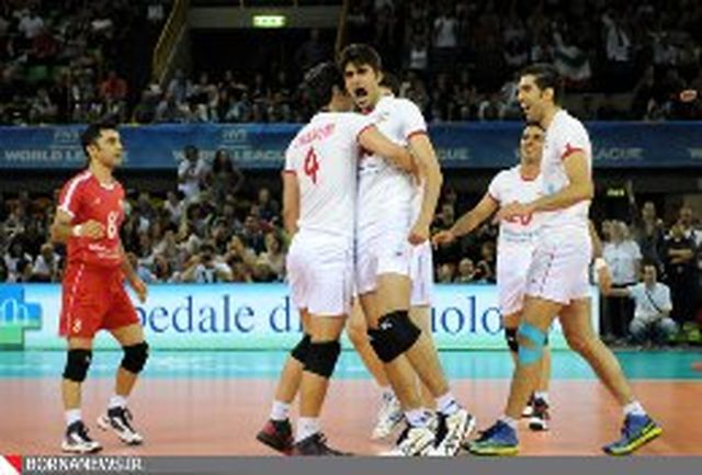 دومین پیروزی والیبال ایران برابر روسیه